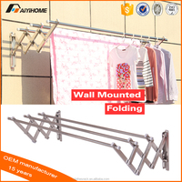 new style outdoor clothes drying racks/stainless steel hanging clothes display racks