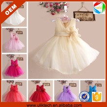 wholesale one piece girls party dresses for 2-6 years olds