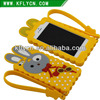 Custom design Mobile Phone accessories of silicone cases for samsung brand