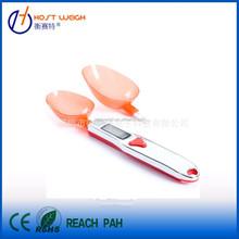 500 g / 300 g LCD Digital Spoon escala de gramo de condimento de la cocina y escala de laboratorio 2 cucharadas