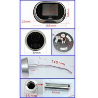дверь Белл 3.5 «tft lcd обскуры глазок цифровой дверной глаз камеры просмотра дверь не беспокоить функция видео глазок