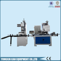 Flanging and seamer machine for 1-5l chemical can making equipment
