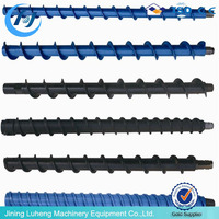 High quality spiral drill pipe /Screw Blade/Helical Auger Blad for sale