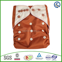 happyflute New Design Reuseable Washable Pocket Cloth Diaper Nappy + 2 Inserts