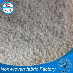 World Class Manufacturer Thermalbonded Car Carpet PET With Wool Non Woven Felt