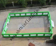 inflatable soccer arena, football field