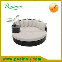Factory Manufacturer Direct Wholesale Poly PE synthetic rattan day bed