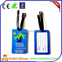hot summer 3D style luggage tag travel luggage tag