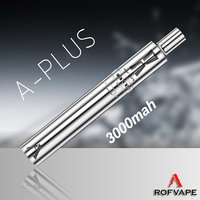 Rofvape A Plus 3000mah huge vape chaser tank coil wire 0.3ohm custom pen vaporizer