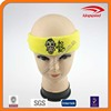 New design lovely film logo embroidery terry cotton headband
