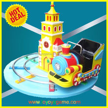 2014 new outdoor coin operated kiddie rides on train for sale