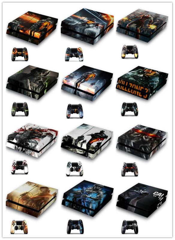 Haute Qualité En Gros Soins de La Peau Autocollant Production Pour playstation 4 Console contrôleur