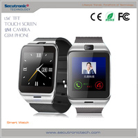 Wholesale Bluetooth NFC GV18 Smart Watch Wearable Bluetooth Phone for Android (GSM Pedometer Sleep tracker Anti-lost)