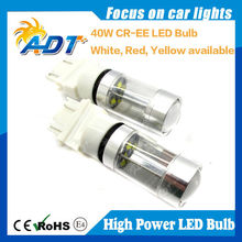 ADT Perfect Gift!!! 40W high power CR.EE XBD chip 3157 car led light White