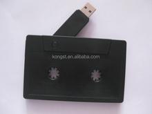 hot selling cassette shape usb memory stick, wholesale cassette usb flash drive bulk cheap