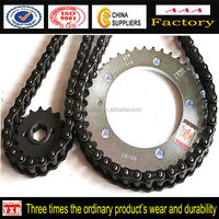 Dirt Bike Parts,Chinese Spare Parts Chain And Sprockets For Motorcycle