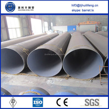 ST42 erw steel pipe erw pipe with fbe external coating