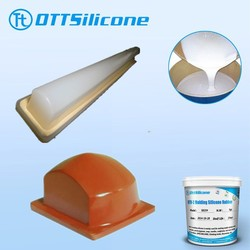 prices two part Silicone RTV for silicone blocks /condensation cure pad printing silicone