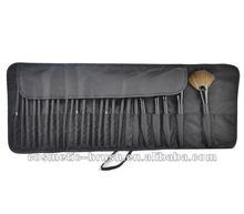 Factory direct Black Nylon cosmetic make up brush bag