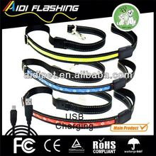 LED light-up dog leash --To make your dog safe / pet traction rope