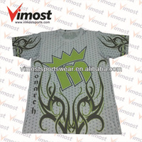 Sportswear Vimost sublimation printing t-shirt, polo shirt with letter M