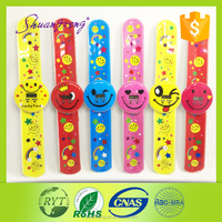 china supplier OPP packing slap watch,digital watch for kid