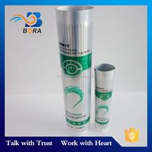 Customized soft empty aluminum plastic laminated tube for toothpaste hair color cream