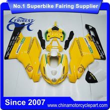 FFKDU002 Motorcycle Fairings For Sale For 749 999 2003 2004 Yellow