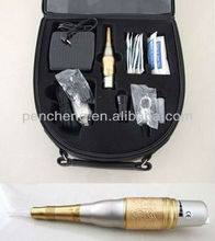 Deluxe Princess Professional Makeup pen & Tattoo Machinery Kit with Foot Pedal