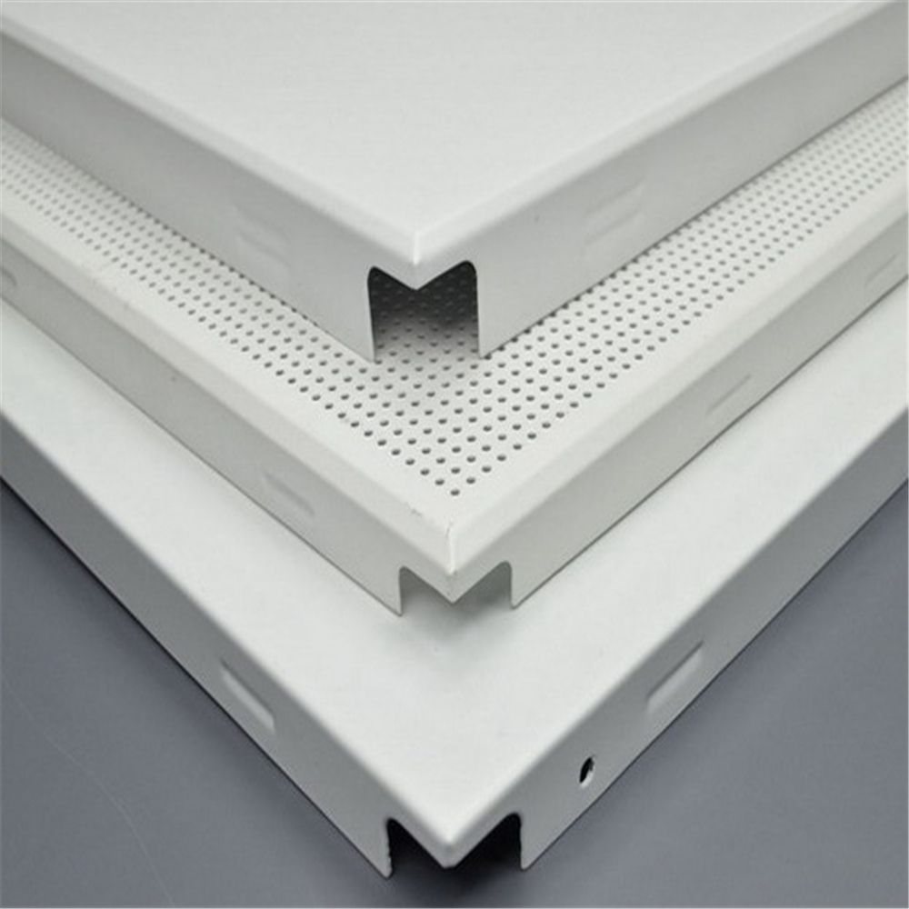 Clip In Lay In Stirp Baffle Grid Curtain Wall Screen Ceiling