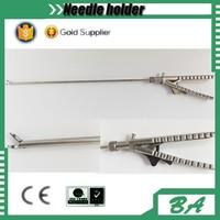 Surgical needle holder forceps/V type needle holder forceps/different types of surgical instrument forceps