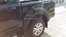 ABS Plastic design fender flare wheel cover for Pick up MAZDA bt50 2012 car accessories