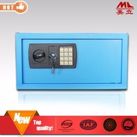 2015 hot top 10 wall hidden two key safe box made in china