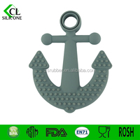 2015 New baby toy/Hot Selling Silicon Anchor Teethers best baby teething toy