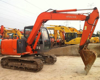 Japanese Mini Excavator Used HITACHI ZX75US-A/HITACHI Hydraulic Excavator ZX70/Used HITACHI EX60 ZX60 ZX70