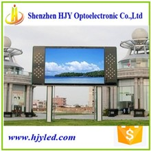 stand design Pitch 10mm outdoor full color LED advise screen