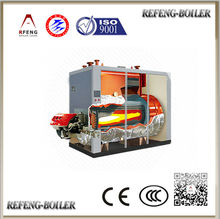 Shopping malls superstore used vacuum hot water unit boiler achieving ASME BV CE ISO CCC certificate