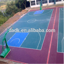 indoor/outdoor PP interlocked tiles basketball
