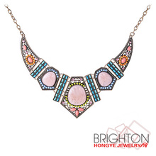 Bohemian Style Fashion Color Necklace N1-55469
