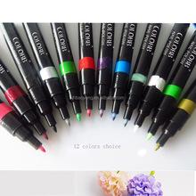 2015 hot sell DIY 3 D nail polish pen high quality nail art pen