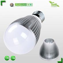High power e27 base led bulb 12w bulb light skd kit