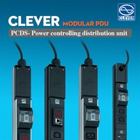Rack mount power distribution unit modular PDU UK socket
