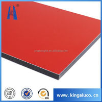 Insulated high quality silver coating aluminium compoiste panel /acp for interior and exterior house wall cladding