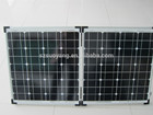 Dobrar painéis solares Mono 100 W 50 W * 2 pcs com todos os certificados