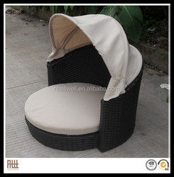 2014 AWRF6162A outdoor rattan pet set furnture with UV - resisitant and waterproof tent