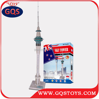 3D PUZZLE TOYS OAKLAND SKY TOWER MODEL FOR KIDS