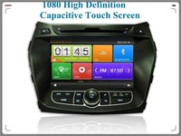 free map free card bluetooth car audio player gps car navigation with camera for Hyundai IX45