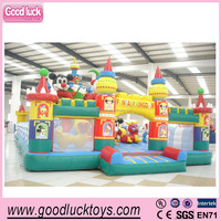 Crazy Fun Jumping Castle,Indoor or Outdoor Inflatable Bouncer castle,inflatable funcity