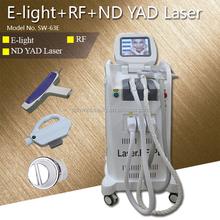nd yag laser Photofacial E-light Hair Tattoo Removal Skin Rejuvenation SW-63E