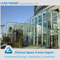 Prefabricated Steel Building Glass Curtain Wall for Sale
